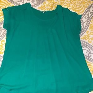 Green blouse only worn twice
